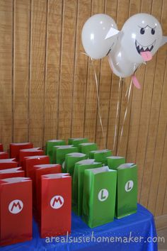 Mario and Luigi Goody Bags