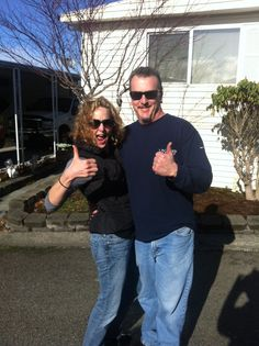 Happy Wednesday everyone! We hope you all are having a great week so far, and we want to give a shout out to Kristi and her husband for their great thumbs up photo! Thanks so much for hiring us!