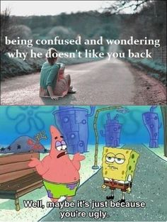 Patrick Star always has the answer.