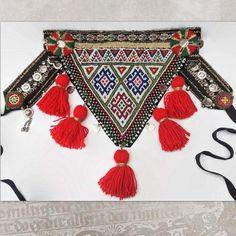 Tribal Belly Dance Belt ATS Costume Belt with red tassels Belly Dance Belt, Afghan Clothes, Obi Belt, Tribal Belly Dance, Boho Headband, Bead Jewellery, Jewelry, Belly Dance Costumes, Tribal Fusion