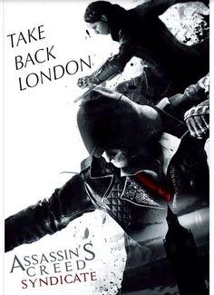 Take Back London Assassins Creed Jacob, Assassin's Creed Hidden Blade, Fandom Games, The Evil Within, I Still Love You, Batman Art, Video Game Art, Fan Art, Fictional Characters