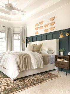 Master Bedroom Makeover, Master Bedroom Design, Dream Bedroom, Home Decor Bedroom, Bedroom Ideas, Master Bedrrom, Budget Bedroom, Home Design, Design Design