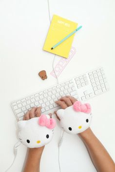 Hello Kitty USB Handwarmers