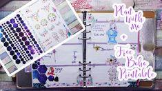 Plan with me Week 10 - Boho Style + Free Printable