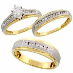 Wed rings