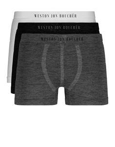 White Christmas Candy Dot Mens Boxer Briefs Breathable Underwear Super Soft Cotton Full-Cut Briefs-2Pack