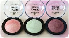 """hi beauties, the eyeshadows from the current """"love & sound"""" trend edition are gorgeous: thanks to the soft baked texture, they blend easily to create beautiful festival make-up styles with a pearly finish """"heart""""-Emoticon apricot, light green or berry - which shade will you go for? #essence #cosmetics #trendedition #loveandsound #eyeshadow"""