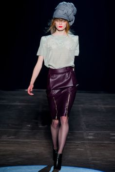 Band of Outsiders Fall 2013 Ready-to-Wear Fashion Show - Ilva Heitmann