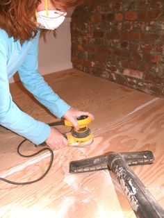How To Make a Painted Plywood Floor | Painting Floors | Handy Magazine