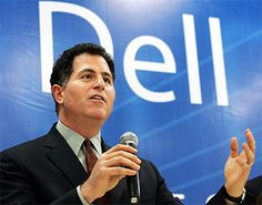 Michael Dell is another famous #CEO who made his own fortune through innovation and ingenuity. He filled a void in the market that would change how people buy computers and all the accessories. At the age of twenty-seven, he was the youngest Fortune 500 CEO.  http://www.ikelemuwagroup.com/