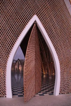 Green Steel or vegetal steel - bamboo& role in architecture Architecture Design, Tropical Architecture, Pavilion Architecture, Concept Architecture, Futuristic Architecture, Sustainable Architecture, Residential Architecture, Amazing Architecture, Contemporary Architecture