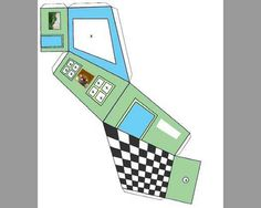 "Paper ""Build Your Own Ames Room"" print out.  Make an optical illusion at home? Yes please!"