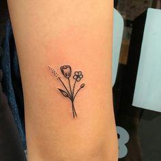 Imagem de tattoo, flowers, and tumblr