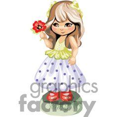 Girl Clip Art, Photos, Vector Clipart, Royalty-Free Images # 2