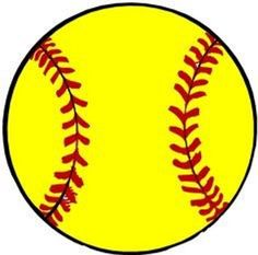 free printable softball silhouette clip art download clipart best rh pinterest com softball clipart free download softball clipart free