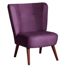 Lana Cocktail Chair Purple, 199€, now featured on Fab.