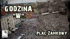 Godzina 'W' Warszawa - Plac Zamkowy godz 17:00 (HD)