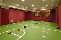 Pretty sport basement by BOWA