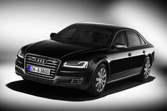 Audi A8 L Security  500 HP Bulletproof luxury sedan/ heat- formed armor steel,aramide fabric,ceramics,special aluminum alloys and multi- laminated glass around the passenger space ensure that this meets class VR7 ballistic protection standards.In certain areas of the car armor plating complies with VR9 and VR10 requirements.