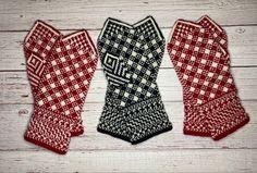 Stina, pattern on pattern. Mittens, Hand Knitting, Ravelry, Pattern, Fashion, Fingerless Mitts, Moda, Fashion Styles, Patterns