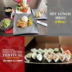 EN Japanese Restaurant, Authentic Japanese food in Delhi so come and explore Japanese cuisine Sushi Lunch, Sushi Food, Lunch Menu, Best Japanese Restaurant, Sushi Restaurants, Party Platters, Sushi Recipes, Japanese Food, Cravings