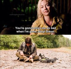 Not only daryl.... I miss you too beth