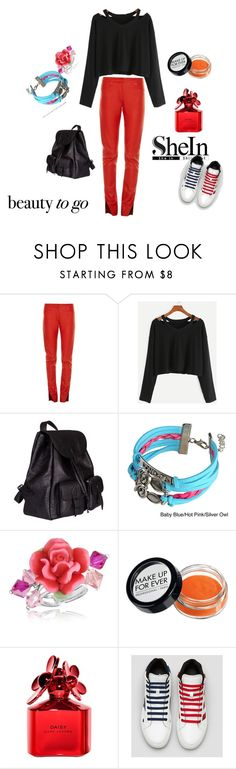 """""""girlyyyy***"""" by matrixmaxgi ❤ liked on Polyvore featuring Loewe, Yves Saint Laurent, Zodaca, Dolci Gioie and Marc Jacobs"""