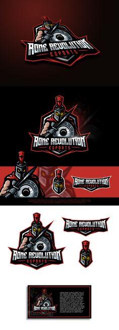 Rome Revolution eSports | 99designs
