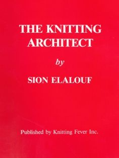 Download -  The Knitting Architect by Sion Elalouf [PDF].  Interesting little book on designing with lots of valuable information.