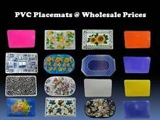 PVC Placemats @ Wholesale Prices  --  6 Pack