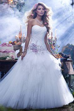 Disney Fairy Tale Bridal Style 238 from Alfred Angelo Bridal. Shop more products from Alfred Angelo Bridal on Wanelo. Disney Wedding Dresses, Disney Dresses, Princess Wedding Dresses, Wedding Dress Styles, Dress Wedding, Disney Weddings, Fairytale Weddings, Floral Wedding, Fairytale Gown