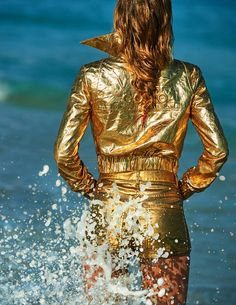 #DoutzenKroes by #GillesBensimon for #VogueParis June/July 2015