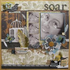 Rubber Stamping, Layouts, Paper, Frame, How To Make, House, Home Decor, Style, Picture Frame