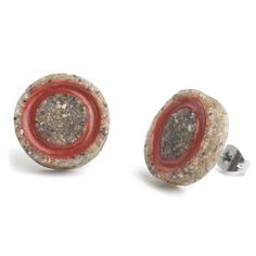 Thease Earrings Gap in Red color.