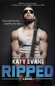 Cover Reveal: Ripped (Real #5) by Katy Evans -On sale  December 9th 2014 by Gallery Books -Every woman wants me--except the one I sing for.  Seattle shakes with anticipation: they call it the concert of the year. They say girls are getting pregnant just thinking about my band being in town.  But when you love a girl, you don't leave her with nothing but a ring and a promise. Any man with half a brain should know.
