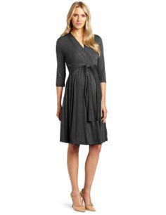 a96f71f0aac6b Amazon.com: Ripe Maternity Women's Maternity Chic Knit Dress: Clothing $99.  Leigh Steele