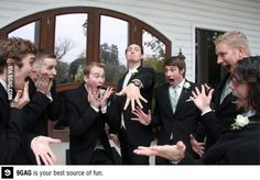 In parallel universe-great picture for wedding album