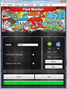 Waldo and Friends Cheat Hacked Gems Unlimited Energy Android iOS