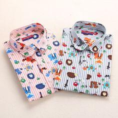 Dioufond Blusas Mujeres Camisetas de Manga Larga Animal Print de Algodón Tapas de Las Señoras de La Vendimia Blusas Shirt Ropa Para Mujer Más Tamaño 5XL