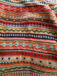 Ravelry: myadestes' Stripey Baby Blanket