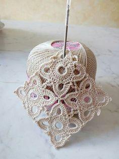 great 12 petal flower crochet  
