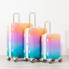 Shop The Oh Joy! This set includes our lightweight, hardside Carry On Spinner, Medium suitcase and Large Checked In Luggage. Luggage Sets Cute, Calpak Luggage, 3 Piece Luggage Set, Large Luggage, Hard Sided Luggage, Cute Suitcases, Travel Party, Cute Bags, Travel Accessories