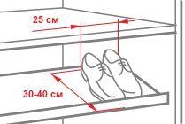 """Рисунок из статьи """"Полезные советы"""" мебельной компании Komandor"""