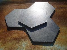 4 Texas Coasters Texas Gift Texas Coaster Set Cork 3.5 Inch Coasters