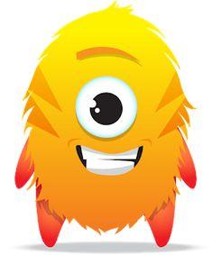 Fuentes' English Corner : Choose your favourite Avatar_Class Dojo Dojo Monsters, Cartoon Monsters, Green Monsters, Cute Monsters, Class Dojo, Dojo Points, Monster Theme Classroom, Monster Clipart, Doodle Monster