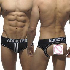 ropa interior hombre calzoncillos marcas tanga hombre Mens Jockstrap Thongs G Strings Popular Brand SEXY gay men Underwear