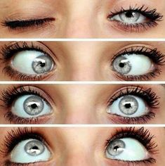 Green eyes with central Heterochromia