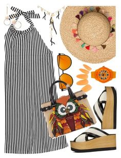"""""""August:  Heat Wave"""" by petalp ❤ liked on Polyvore featuring Isabel Marant, Kenneth Jay Lane, Burberry, Tendence and ootd"""