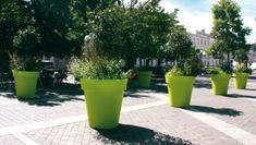 Blumentöpfe und modernes Design : Greenspired