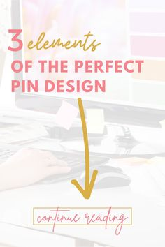 Did you know Pinterest is a visual search engine, not social media? That means you need good pins that people are going to click! Here I walk you through the three elements of the perfect pin design! These tips will increase the traffic to your website! Isn't that what we all want? #pindesign #pinterestmarketingtips #increasetraffic #stepbystep #pinterestdesign